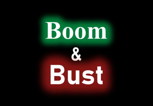 Das Zeitalter von Boom und Bust ist nicht vorbei