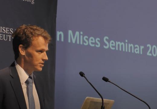 """Mises Seminar 2020: """"Die Ethik der Freiheit"""" (Vortrag 9)"""