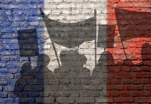Ein Protest aus Frankreich