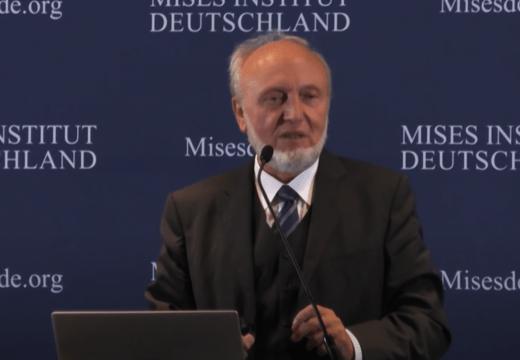"""Professor Dr. Hans-Werner Sinn: """"Das Klimaproblem und die deutsche Energiewende"""""""